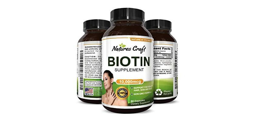 Free Natures Craft Biotin Supplement