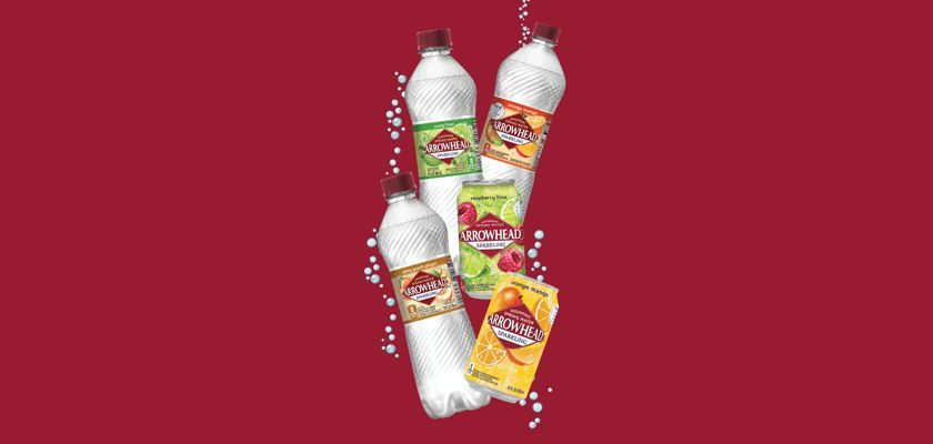 Free 8-Pack of Arrowhead Mountain Sparkling Water