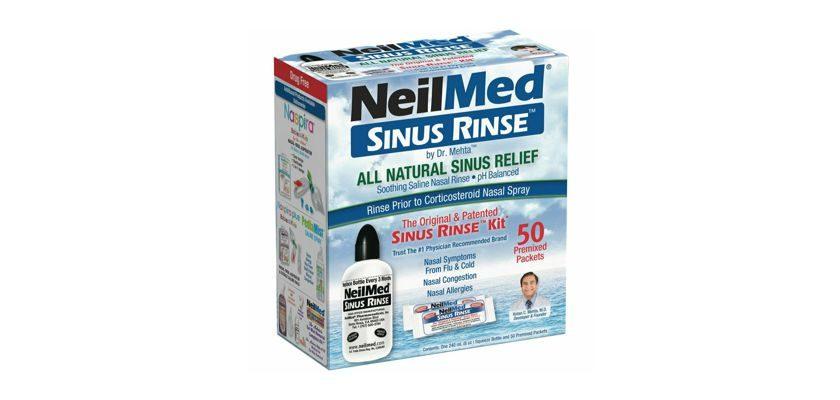 Free NeilMed Sinus Rinse Kit or NasaFlo Neti Pot