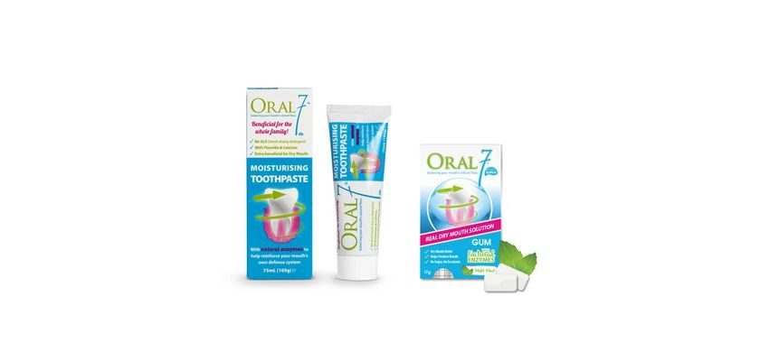 Free Oral7 Dry Mouth Product Sample