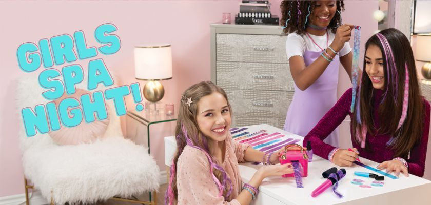 Free Cool Maker Girls Spa Night Party Kit