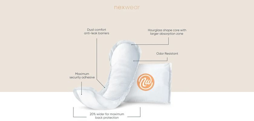 Free Sample Of Nexwear Premium Bladder Control Pads For Women