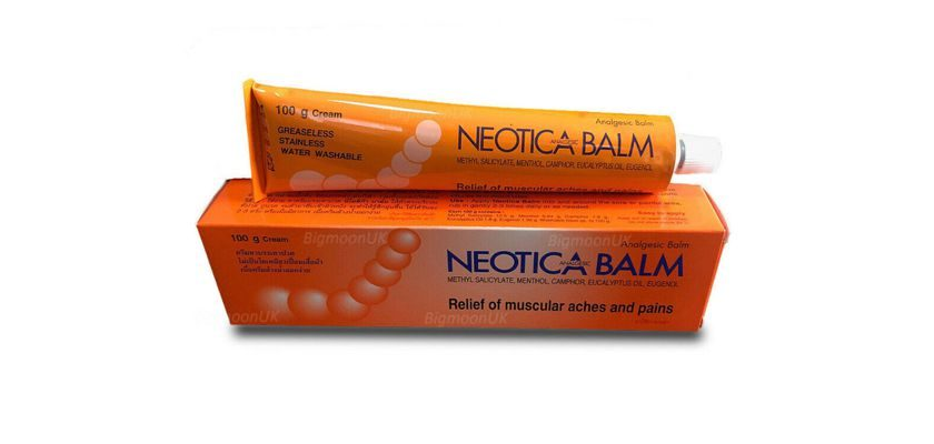 Free Sample Of Neotica Muscle Relief Creme