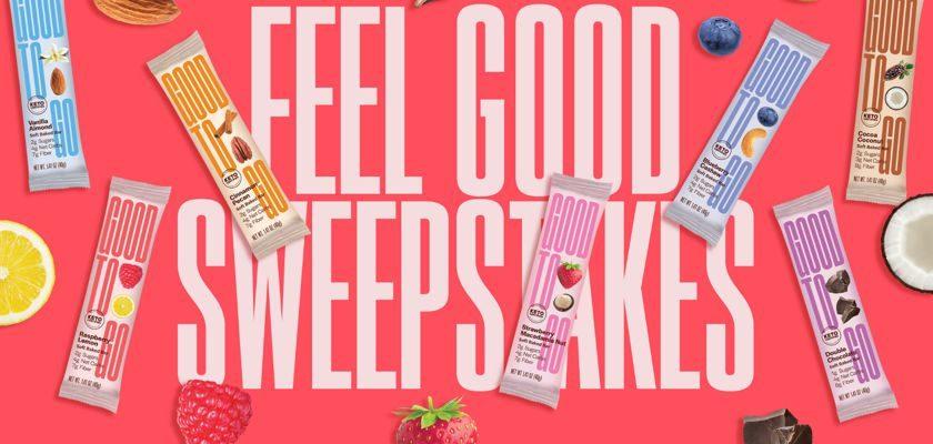 """GOOD TO GO """"FEEL GOOD"""" Sweepstakes"""