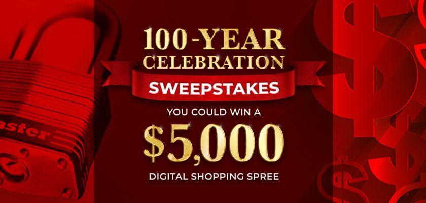 Master Lock - 100-Year Celebration Promotion
