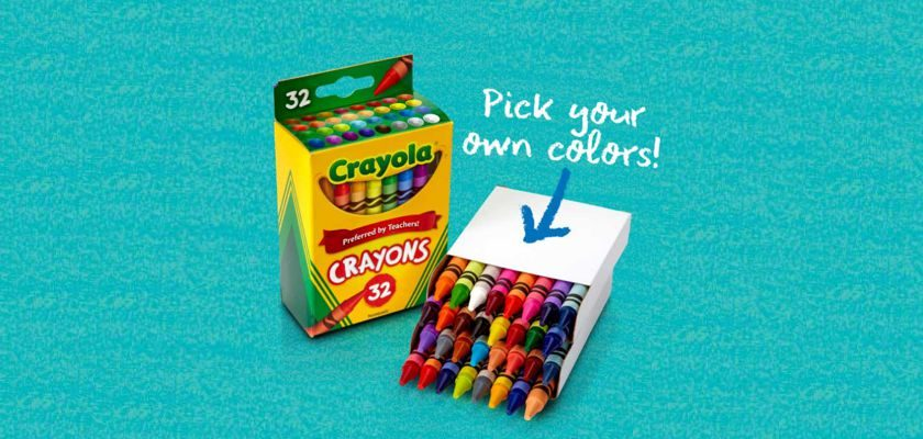 Free Box of Crayons