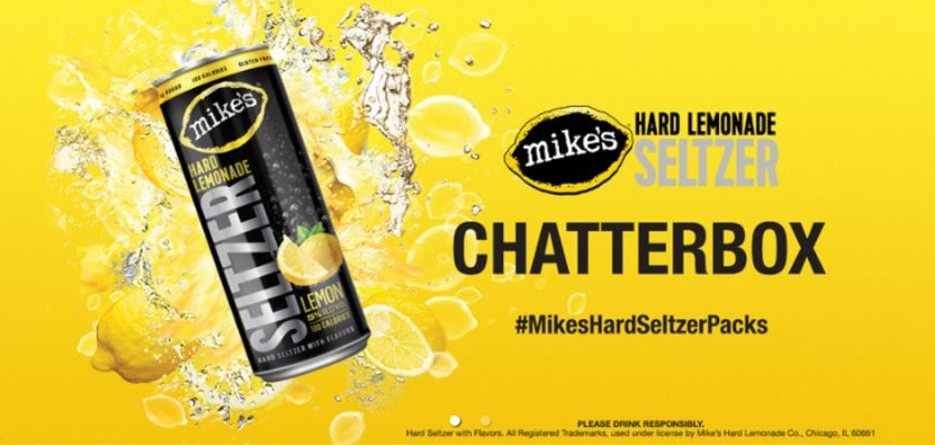 Free Mike's Hard Lemonade Seltzer Chatterbox Kit