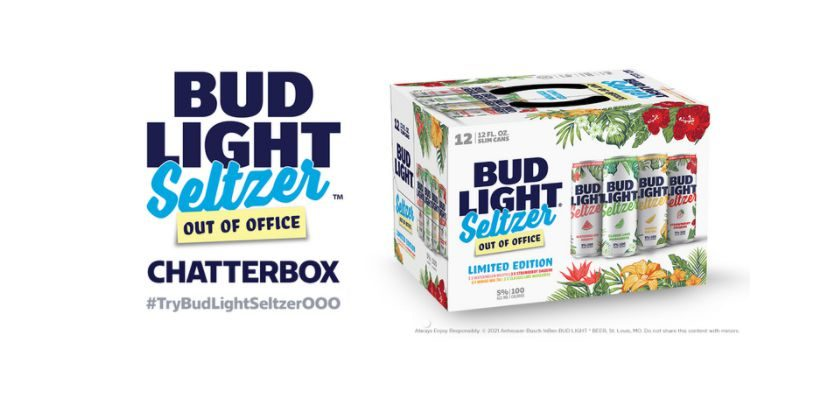 Free Bud Light Seltzer Out Of Office Chatterbox Kit
