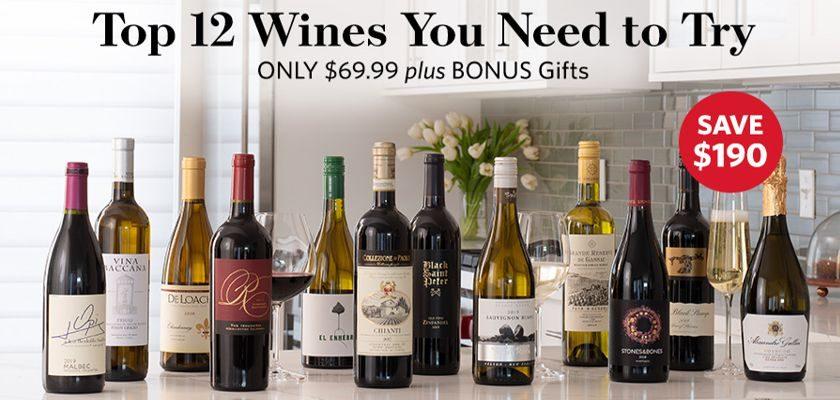 WSJwine Top Wine Special
