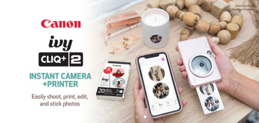 Free Canon IVY CLIQ+2 Party Kit