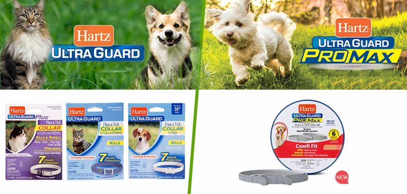 Free Hartz UltraGuard Flea & Tick Collars for Pets