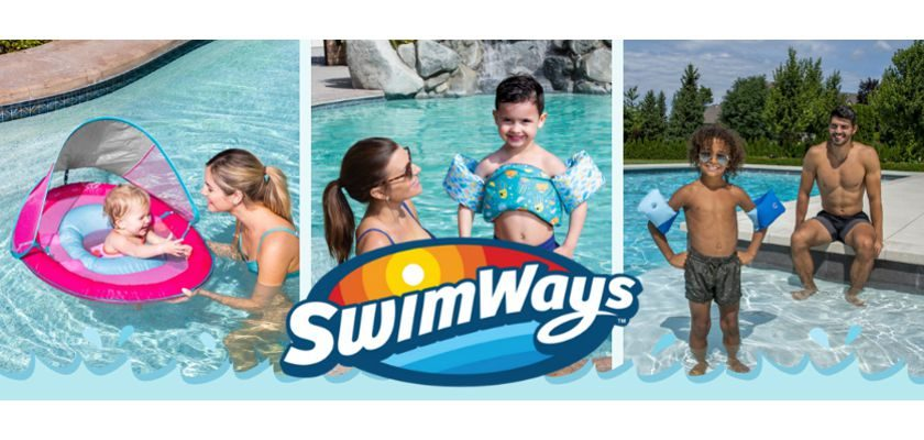 Free SwimWays Little Swimmers Party Kit
