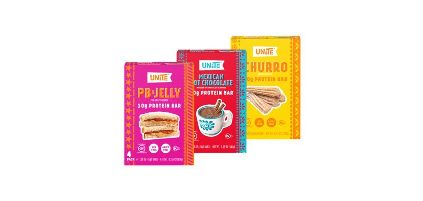 Free 4-Pack of UNite Food Protein Bar